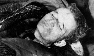 Ο Τσαουσέσκου νεκρός